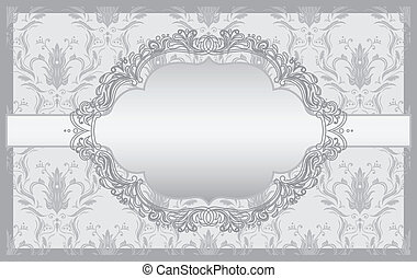 Invitation cards baroque