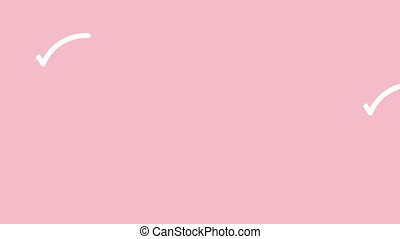 invitation, conception, calligraphy., carte rouge, fleurir, carte, deux, élément, valentines, amants, décor, mariage, coeur, monoline, logos., animation, salutation, vidéo, fait main
