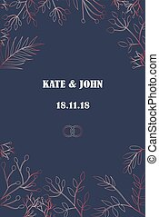 invitation for a wedding