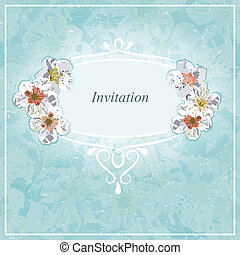 Invitation for wedding