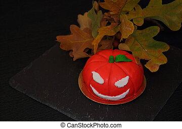 invitation, halloween, citrouille