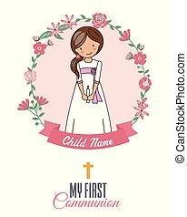 Invitation my first communion