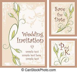 Invitation Rose 01