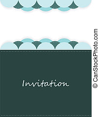 invitation with special design