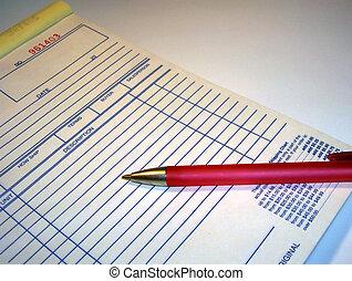 Invoice Book - Self employed - Sales Invoice
