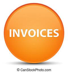 Invoices special orange round button
