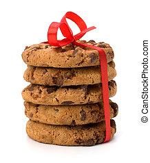 involvere, festivo, biscotti, pasta, cioccolato