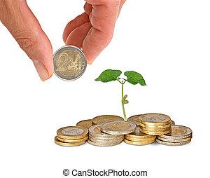 inwestując, do, rolnictwo