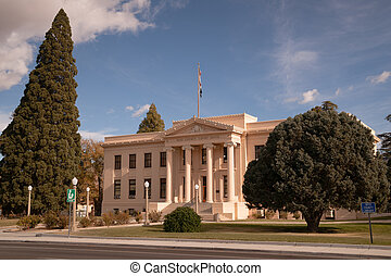 Inyo County Courthouse Main Street Highway 395 Independence