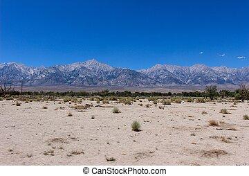Inyo Mountains in California