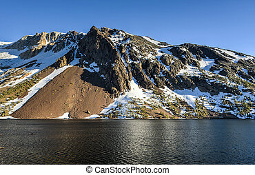 Inyo National Forest - Ellery Lake - Yosemite National Park,...