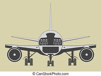 inzittende aircraft