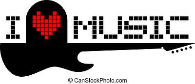 io, amore, musica