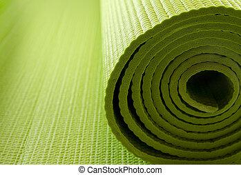 ioga, colchão