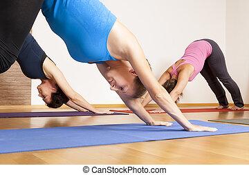 ioga, exercício