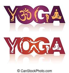 ioga, icons., sinal