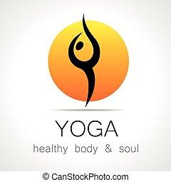 ioga, logotipo