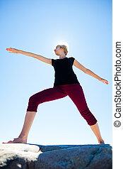 ioga, natureza