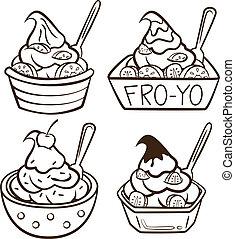 iogurte congelado