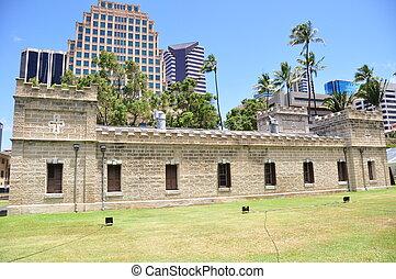 Iolani Barracks, Honolulu, Hawaii