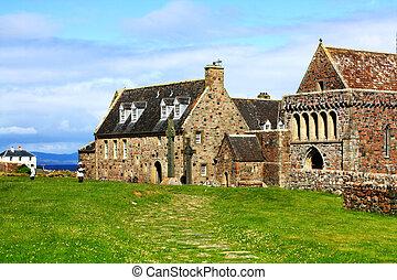 Iona, Scottish Island in summertime