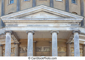 Ionic classical order of columns architecture