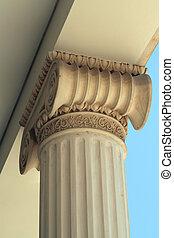 Ionic column ...