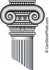 ionic, colunas