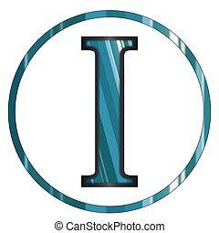 Iota Greek Letter