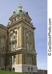 Iowa State Capitol Corner