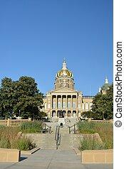 Iowa State Capitol-Des Moines, Iowa