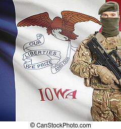 iowa, tenencia, estados unidos de américa, estado, serie...