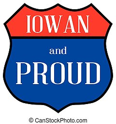 iowan, orgulloso