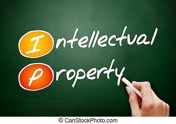 ip, - , διανοούμενος , χέρι , μετοχή του draw , ιδιοκτησία, περιουσία