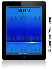 ipad., 2012, カレンダー