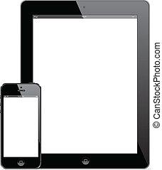 ipad, 4, e, iphone, 5