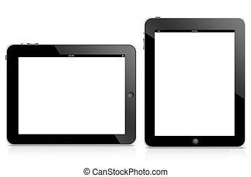 ipad, computadora, tableta
