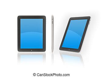 ipad, nuevo, ultra, dispositivo