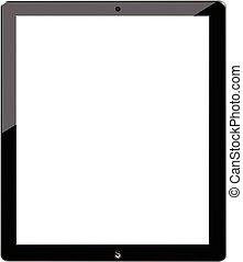 ipad, semblable, tablette
