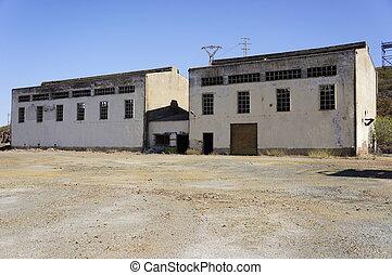 iparág, bányászás, épület