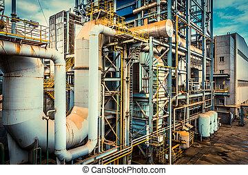 iparág, felszerelés installation