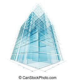 iparág, szerkesztés, építészet