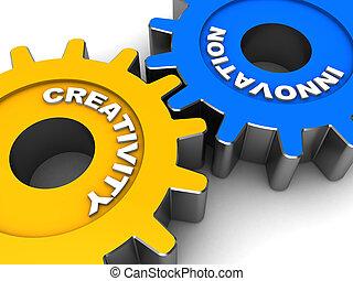 ipari, újítás