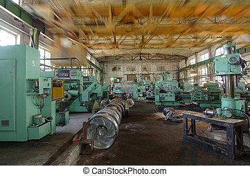 ipari, hely