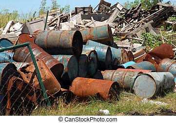ipari hulladék