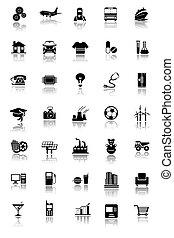 ipari, ikonok