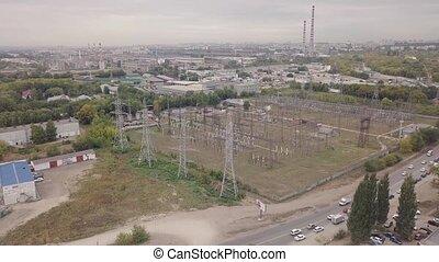 ipari, sáv, antenna