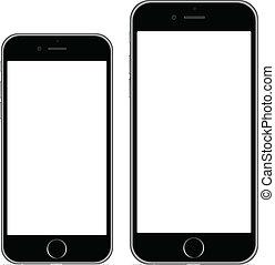 iphone, 6, iphone, 6, positivo