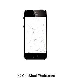 iphone, plus, jabłko, 6