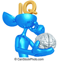 IQ - 3D Concept And Presentation Figure